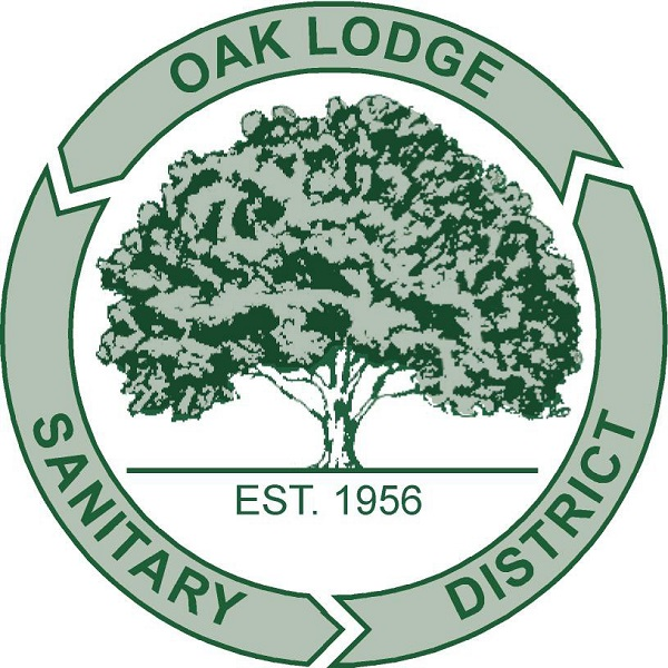 Old Oak Lodge Sanitary Logo