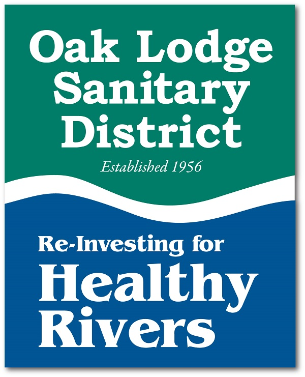Redesigned Oak Lodge Sanitary District Logo