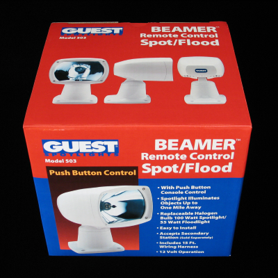 Beamer Spotlight Corrugated Packaging – Top