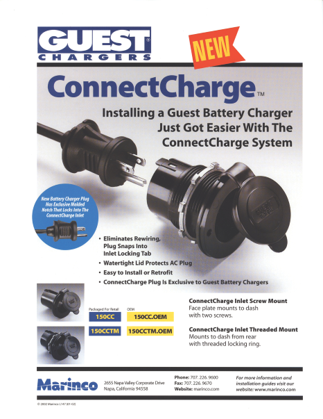 Guest ConnectCharge New Product Literature