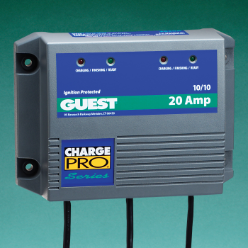 Product Label Graphics for Battery Charger